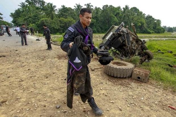 泰国南部北大年府爆炸致2人死亡5人受伤 hinh anh 1