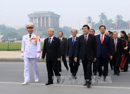 越南第十三届国会第十次会议在河内隆重开幕 hinh anh 3