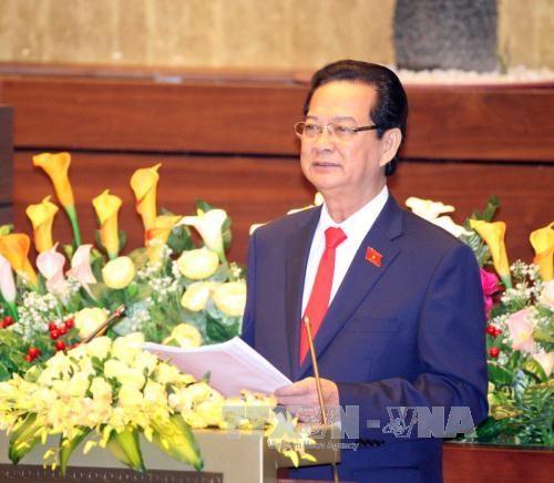 越南第十三届国会第十次会议在河内隆重开幕 hinh anh 2