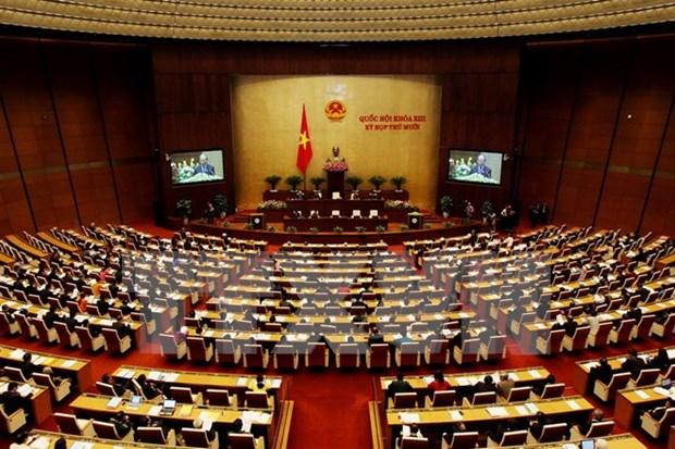 越南第十三届国会第十次会议在河内隆重开幕 hinh anh 1