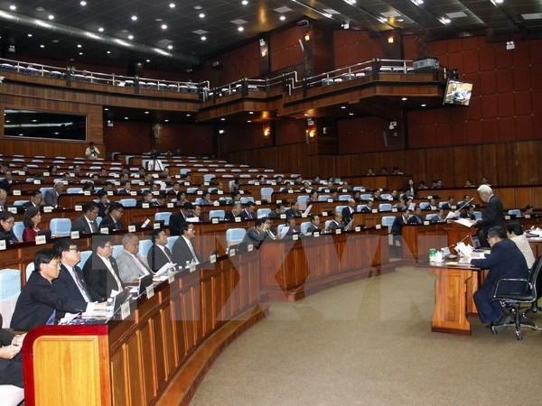 柬埔寨国会在3个月休会后召开第五次全体会议 hinh anh 1