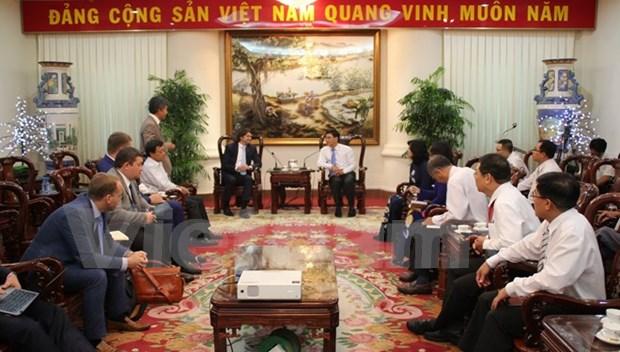 俄罗斯天然气工业股份公司愿加强与越南同奈省的合作 hinh anh 1