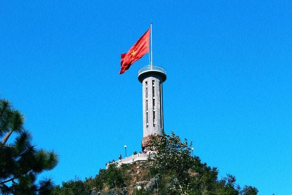 越南的极北之地——龙鼓旗台 hinh anh 1