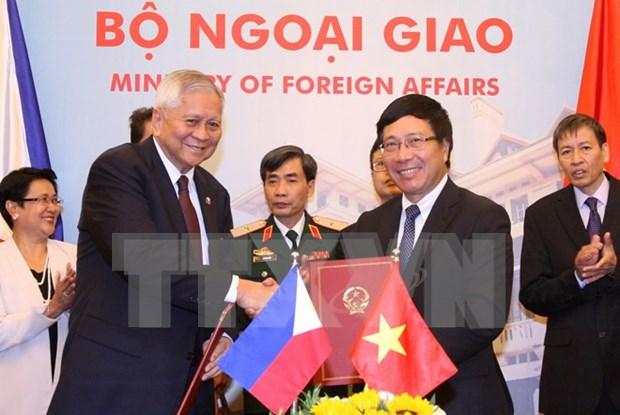 越南-菲律宾混合委员会召开第八次会议 hinh anh 1