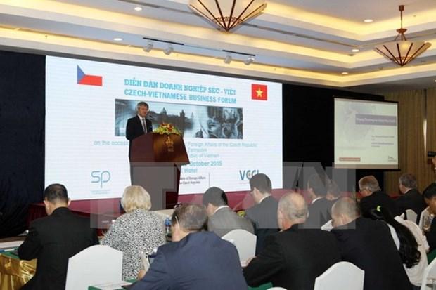越南和捷克力争将双向贸易额达10亿美元 hinh anh 1