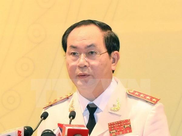 越南公安部长陈大光大将出席东盟中国执法安全合作部长级对话 hinh anh 1