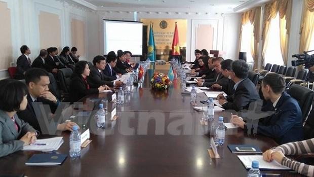越哈政府间经贸与科技合作联合委员会第七次会议在哈萨克斯坦召开 hinh anh 1