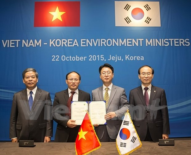 越南与韩国加强生物多样性保护和自然资源利用领域的合作 hinh anh 1