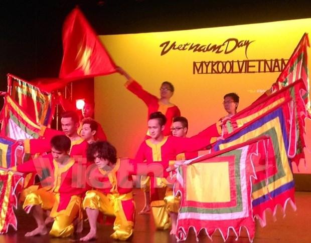 越南留学生在新西兰推广民族文化 hinh anh 1
