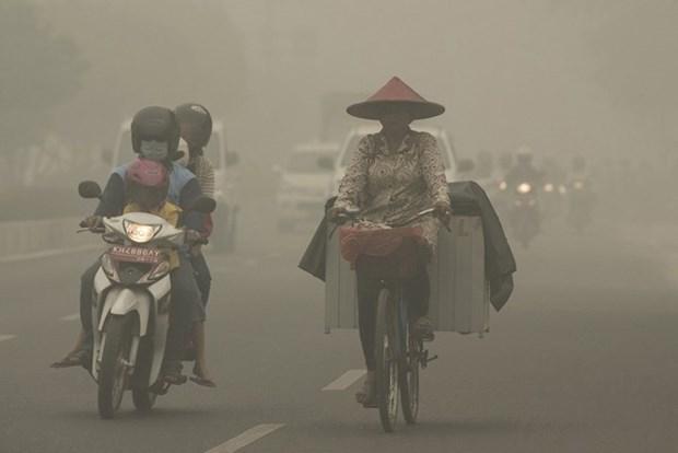 印尼烟霾继续蔓延新加坡呼吁东盟采取行动 hinh anh 1