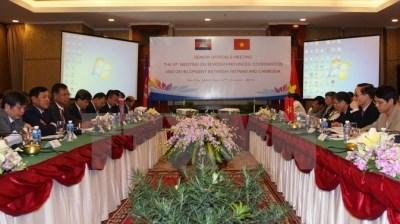 越柬两国讨论推动双方团结友好合作关系的措施 hinh anh 1