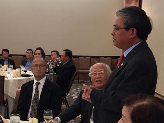 范光荣大使:旅居海外越南人是越南民族不可分割的一部分 hinh anh 1