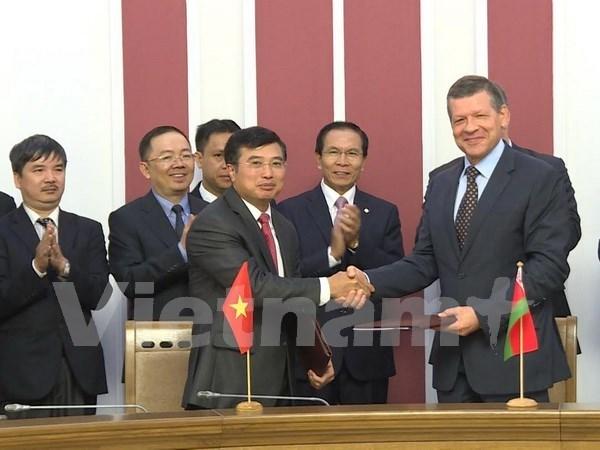 越白政府间经贸和科技合作委员会第12次会议在明斯克召开 hinh anh 1