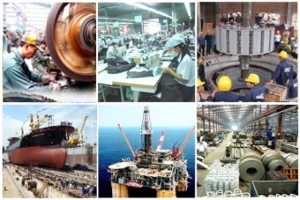 2015年前10个月越南工业生产指数涨逾10% hinh anh 1
