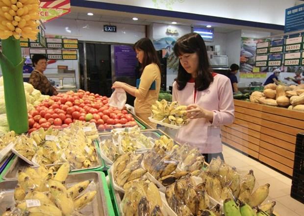 2015年前10个月越南消费品零售总额同比增长9.6% hinh anh 1