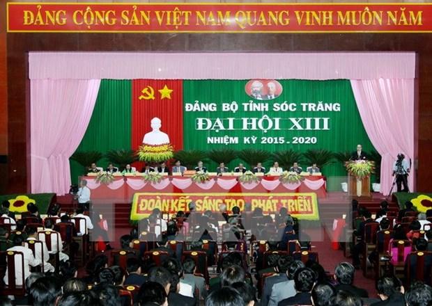越共谅山省和朔庄省代表大会昨日开幕 hinh anh 2