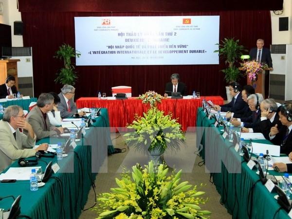 第二次越南共产党与法国共产党理论研讨会在河内举行 hinh anh 1