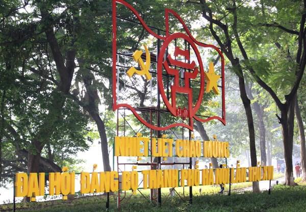 首都人民对越共河内市第十六次代表大会充满期待 hinh anh 1