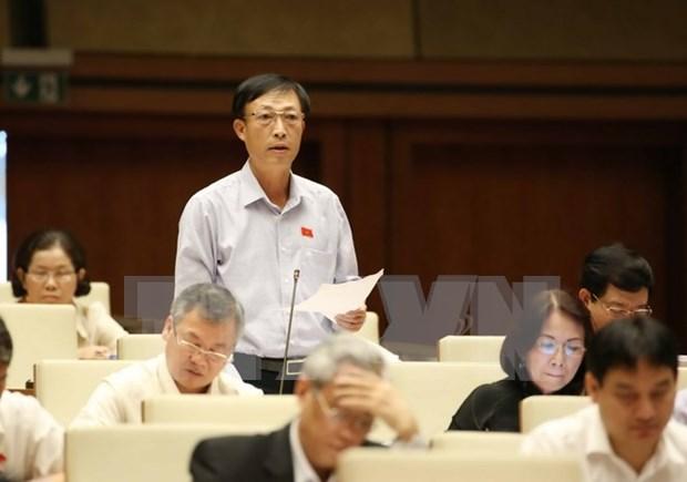越南第十三届国会第十次会议发表第八号公报 hinh anh 1
