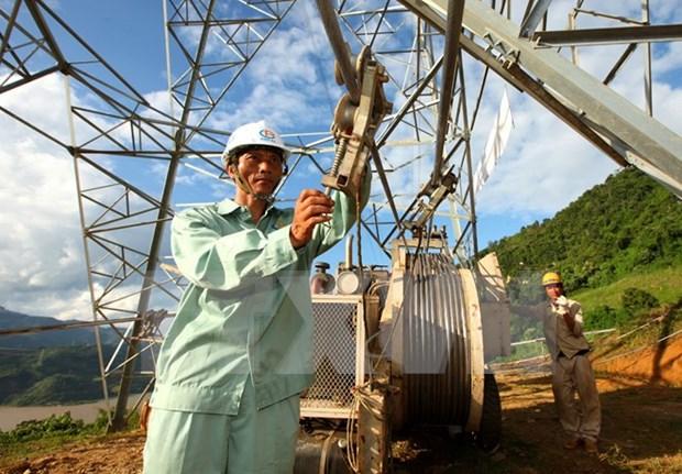越南获取电力供应指数排名提升22位 hinh anh 1