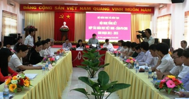 越南与柬埔寨加强教育培训合作 hinh anh 1