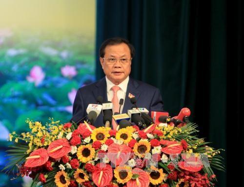 越共河内市第十六次代表大会在河内隆重开幕 hinh anh 3