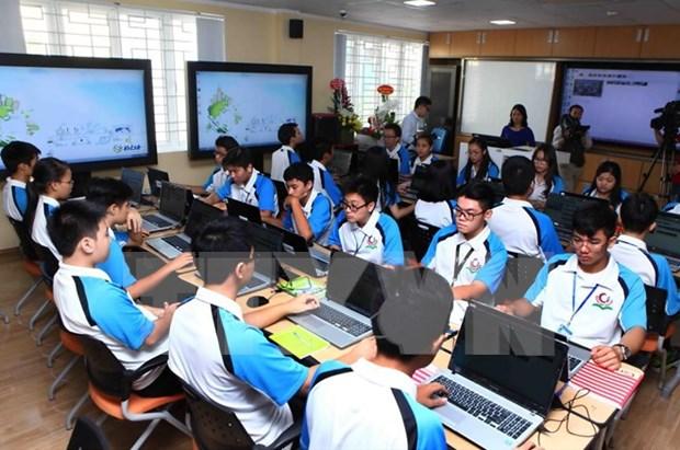 韩国协助越南推进信息技术在教育教学中的深入普遍应用 hinh anh 2