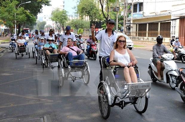 年初至今越南接待国际游客量达633万人次 hinh anh 1