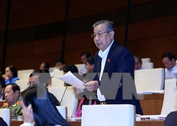 越南第十三届国会第十次会议讨论2015年经济社会发展情况 hinh anh 1