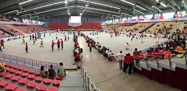 世界青年地掷球锦标赛:越南地掷球队连胜两场 hinh anh 1