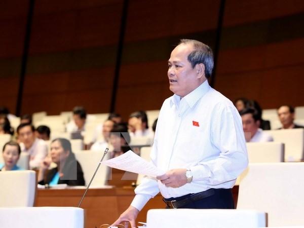 国会代表对政府国家财政预算执行情况报告表示赞同 hinh anh 1
