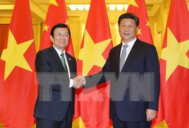 中共中央总书记、国家主席习近访越:越中关系保持积极发展趋势 hinh anh 1