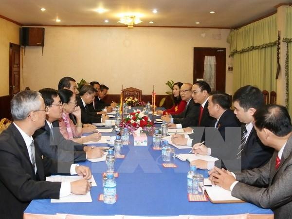 越南与老挝边境地区合作取得丰硕结果 hinh anh 1