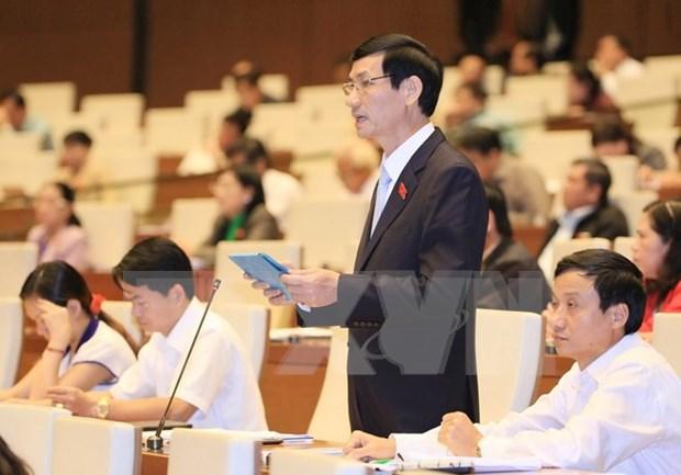 越南第十三届国会第十次会议发表第十一号公报 hinh anh 1