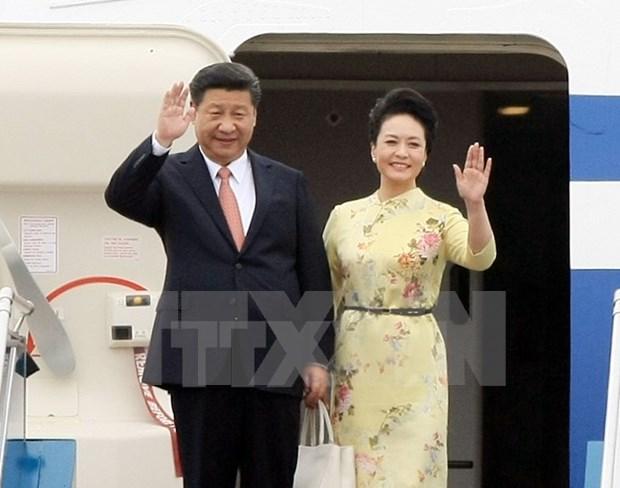 中共中央总书记、国家主席习近平对越南进行国事访问 hinh anh 1
