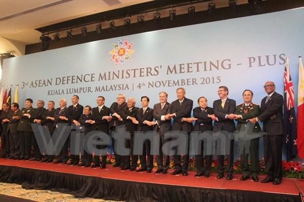 东盟防长扩大会议:加强防务合作 维护地区和平稳定 hinh anh 1