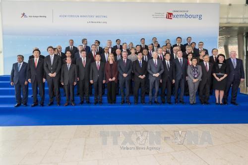 第12届亚欧外交部长会议在卢森堡开幕 hinh anh 1