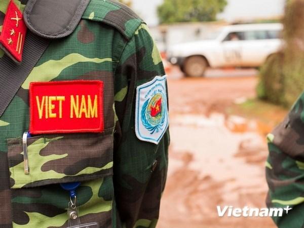 越南积极参与联合国维和行动 hinh anh 1