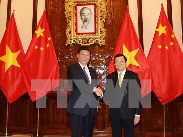 越南社会主义共和国与中华人民共和国联合声明 hinh anh 1