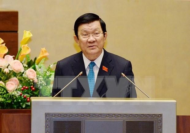 越南国会就批准《建立世界贸易组织协定》议定书(修正案)展开讨论 hinh anh 1