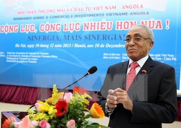 越南-安哥拉建交40周年纪念典礼即将举行 hinh anh 1