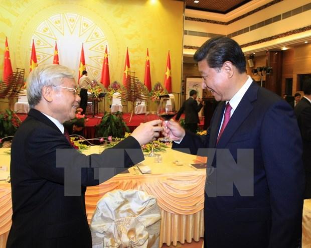 中共中央总书记、国家主席习近平:继续推动中越全面战略合作伙伴关系不断向前发展 hinh anh 1