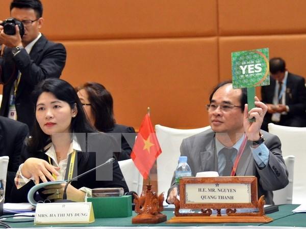 东盟最高审计机构理事会第三次大会在柬埔寨召开 hinh anh 1