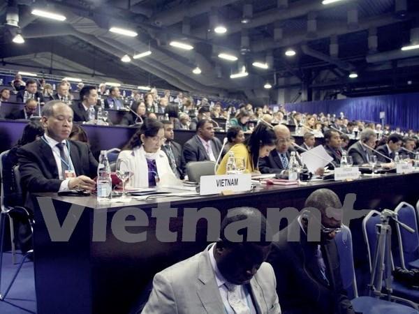 越南代表出席《联合国反腐败公约》第六届缔约国大会 hinh anh 1