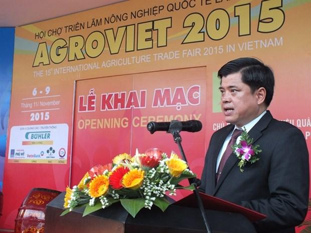 第15届越南国际农业展览会吸引400间展位参展 hinh anh 1