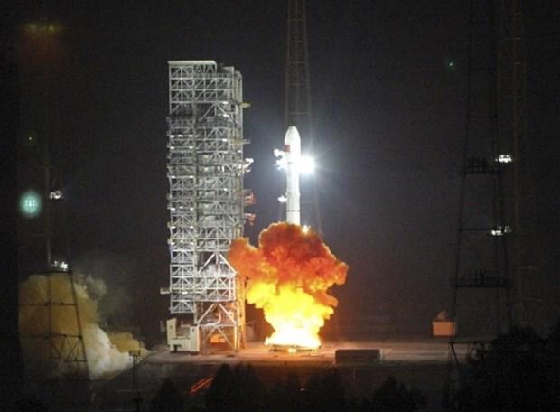 """老挝首颗通信卫星""""老挝一号""""即将发射升空 hinh anh 1"""