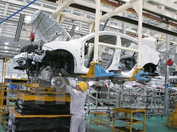 10月份越南汽车销量超过2014全年总额 hinh anh 1