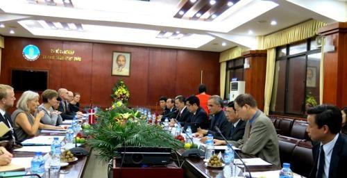 越南与丹麦加强食品和绿色增长合作 hinh anh 3