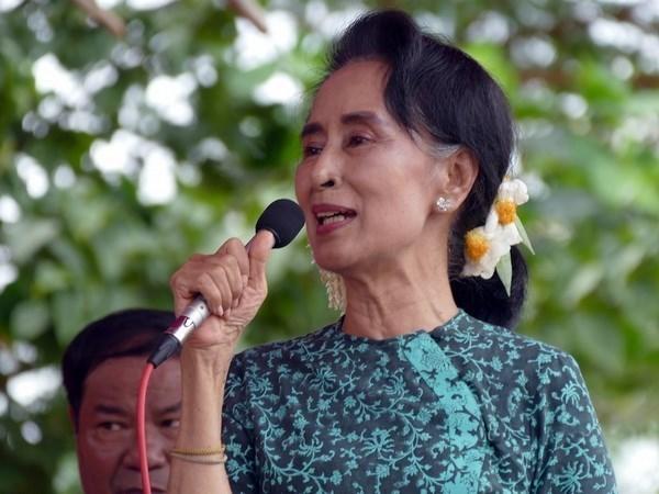 缅甸民盟领袖昂山素季重新当选下议院议员 hinh anh 1