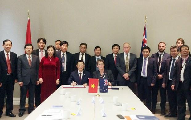 河内市与新西兰惠灵顿加强在各领域的合作 hinh anh 1
